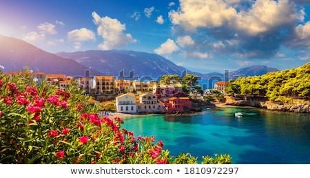 Península ilha natureza paisagem mar oceano Foto stock © ivonnewierink
