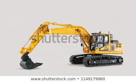 bánya · gép · szén · bányászat · nyitva · este - stock fotó © stoonn