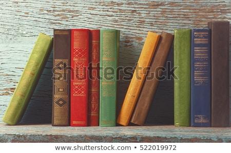 スタック 歴史的 図書 詳細 スタジオ 写真 ストックフォト © prill