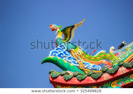 Asian Roof Corner Stock photo © bobkeenan
