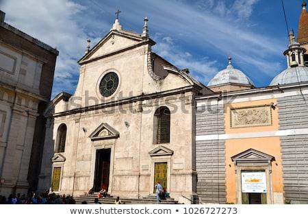 Róma templom mikulás város művészet utazás Stock fotó © wjarek