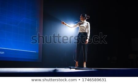 Női közzététel szexi kép absztrakt formák Stock fotó © nicemonkey
