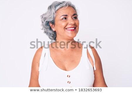 fashion woman looking away Stock photo © feedough