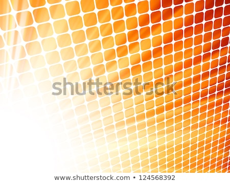 red yellow rays light 3d mosaic eps 8 stock photo © beholdereye