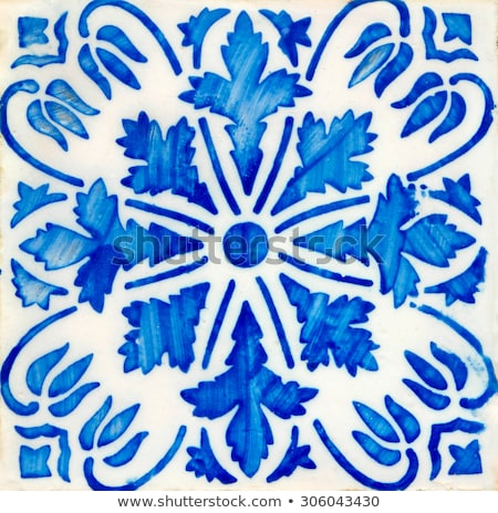 Traditional Portuguese Glazed Tiles Foto stock © homydesign