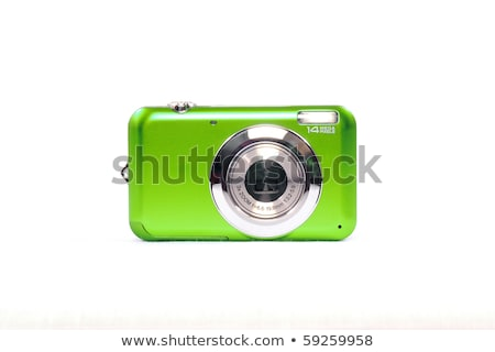 Digital camera isolated on white Stock photo © sqback