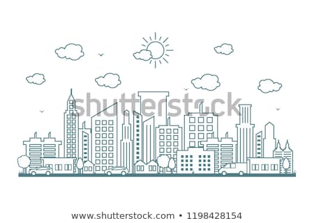 City skyline Stock photo © zzve