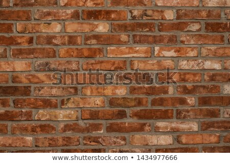 brick wall with vintage look stock photo © redpixel