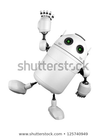 robot · 3d · render · gelecek - stok fotoğraf © kirill_m