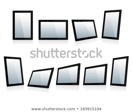Selection of Tablets at different angles Stock photo © fenton