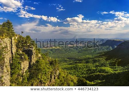 gods window panorama route africa Stock photo © compuinfoto