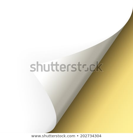 paper folds illustration design background over white Stock photo © alexmillos