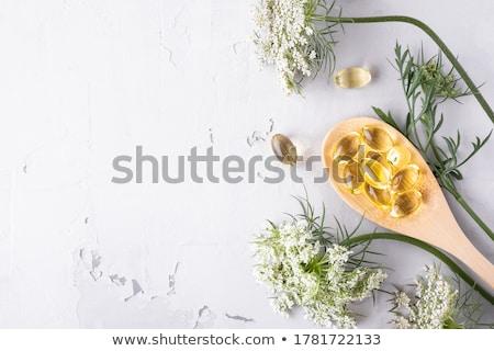 Hapları yalıtılmış beyaz tıbbi arka plan Stok fotoğraf © natika