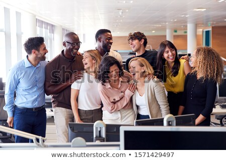 Successful co-workers Stock photo © pressmaster