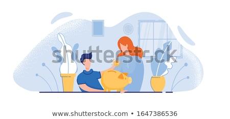 engraçado · euro · moeda · vetor · desenho · animado · diferente - foto stock © ikopylov