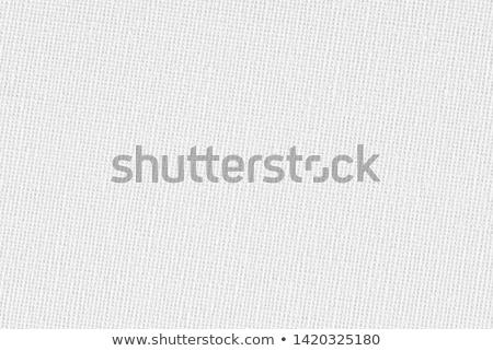 Beyaz bez moda doku kumaş Stok fotoğraf © juniart