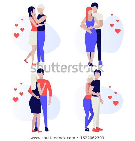 Young couple during the valentines day Stock photo © majdansky