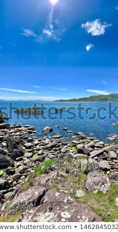 beautiful sandy beach on the wild atlantic way Stock photo © morrbyte