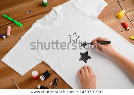 Designer drawing the old fashioned way Stock photo © wavebreak_media
