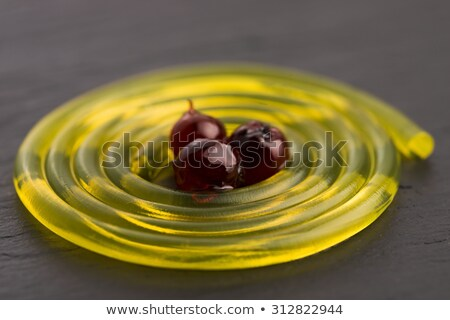 molekuláris · gyümölcs · spagetti · szirup · háttér · nyár - stock fotó © joannawnuk