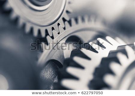 Streszczenie narzędzi biały działalności zegar Zdjęcia stock © tetkoren