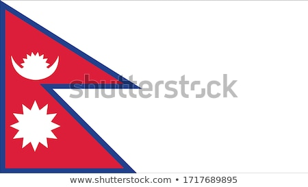 United Kingdom and Nepal Flags Stock photo © Istanbul2009
