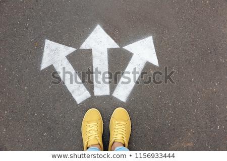 Karriere Rat Business Erfolg Unterstützung Symbol Stock foto © Lightsource