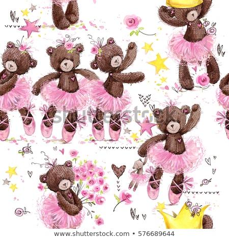 verjaardag · wenskaart · teddybeer · liefde · achtergrond · jongen - stockfoto © balasoiu