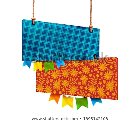 festa junina june party festival background stock photo © sarts