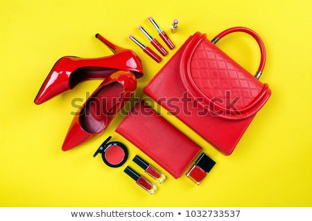 Woman with item in bags Stock photo © carenas1