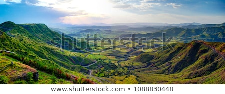 Hills and valleys. Stock photo © Fisher