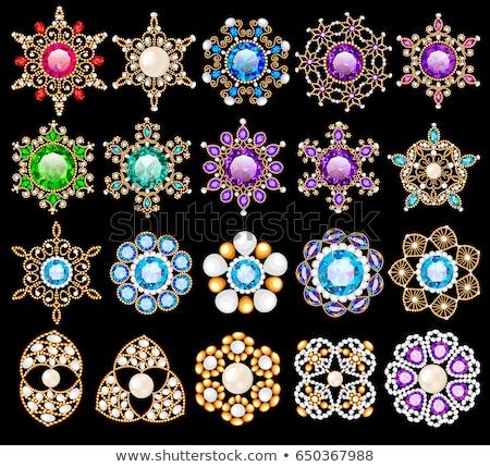 diamante · branco · abstrato · vetor · arte · ilustração - foto stock © robuart