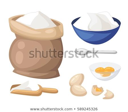 чаши мучной масло хлеб совета Кука Сток-фото © M-studio