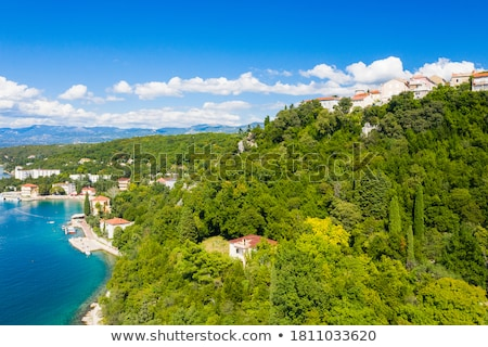 ville · vue · île · Croatie · ville · rue - photo stock © xbrchx