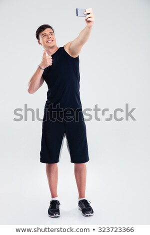 Ritratto giovani montare uomo Foto d'archivio © feedough