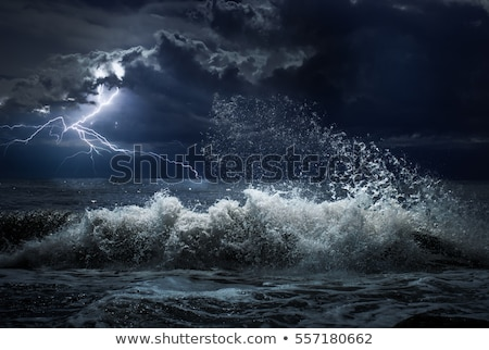 Thunderstorm at the sea  Stock photo © bluering