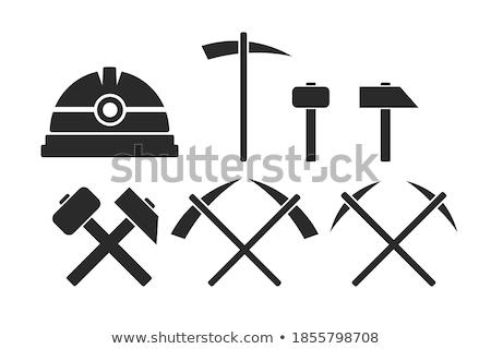 Pickaxe Vector Icon Stock photo © smoki
