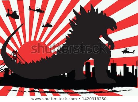 Stok fotoğraf: Karikatür · dinozor · filmler · örnek · film · tiyatro