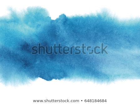 sky blue watercolor paint effect background stock photo © sarts