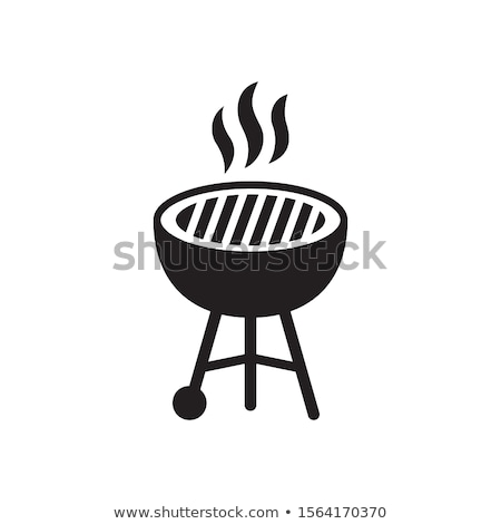 caliente · salchicha · humo · aislado · blanco · fondo - foto stock © robuart