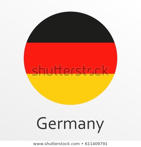 Németország utazó kitűző mágnes izolált vektor Stock fotó © robuart