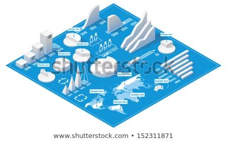 vector · isometrische · pub · gebouw · icon · kantoor - stockfoto © netkov1