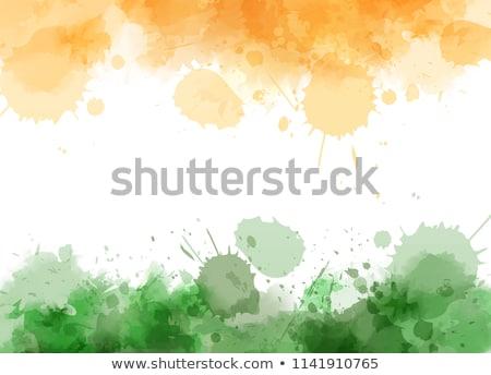 Vote Inde indian pavillon couleurs pays Photo stock © SArts