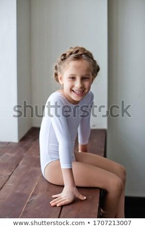pequeno · ginasta · diferente · difícil · etapa - foto stock © anna_om