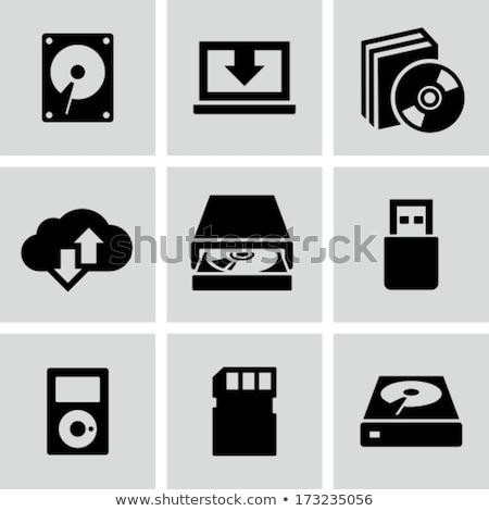 portátil · isolado · branco · laptop - foto stock © magraphics