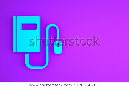 eBOOK text with blue books 3D Stock photo © djmilic