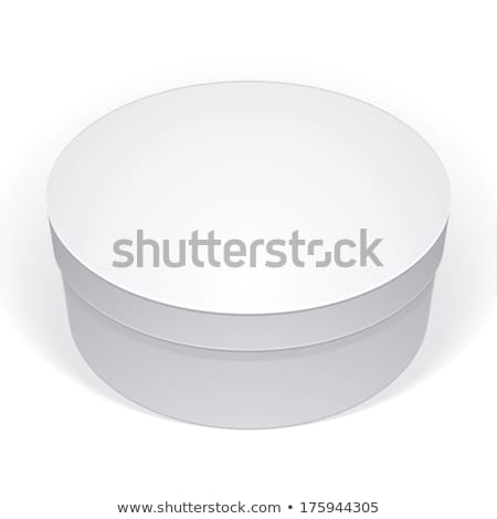 Cake Hat Round Carton Package Packaging Vector Stock photo © pikepicture