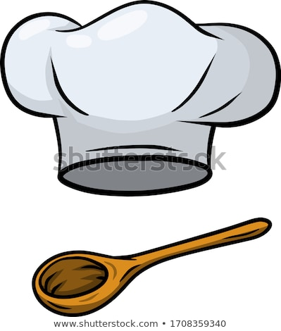 Chef Hat Professional Cooker Clothing Ink Vector Stock photo © pikepicture