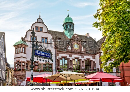 Freiburg City Hall, Germany Stock photo © borisb17