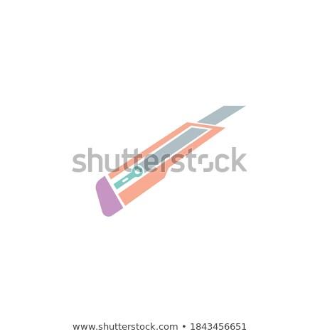 hirdetőtábla · illusztráció · fehér · fű · háttér · művészet - stock fotó © pikepicture